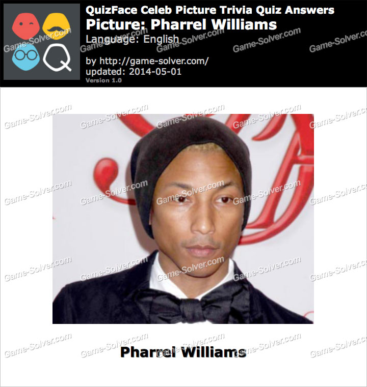 QuizFace Level Pharrel Williams