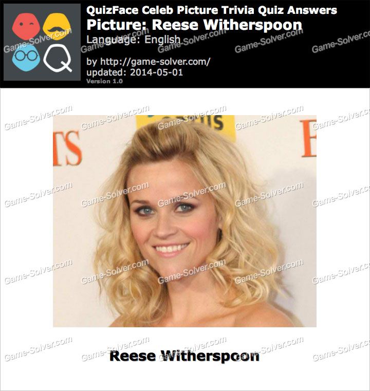 QuizFace Level Reese Witherspoon