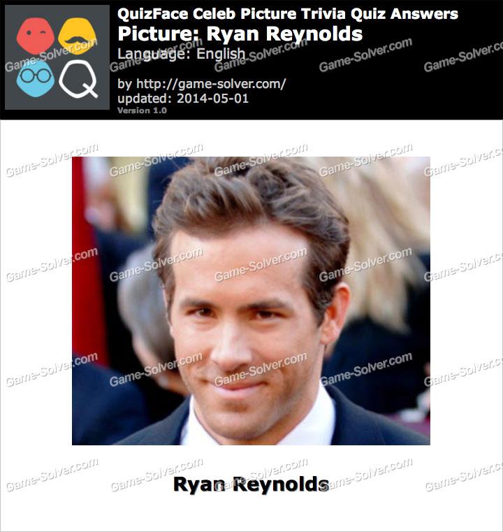 QuizFace Level Ryan Reynolds
