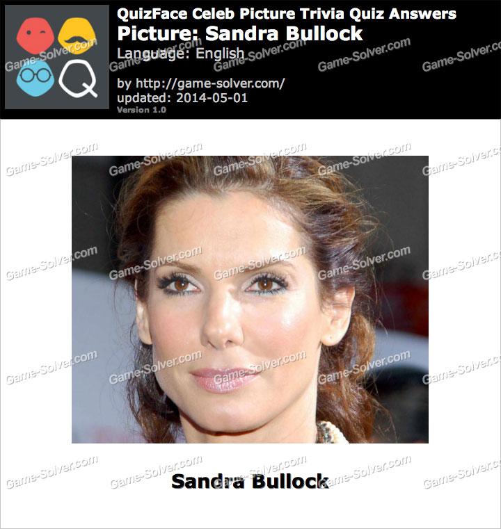 QuizFace Level Sandra Bullock