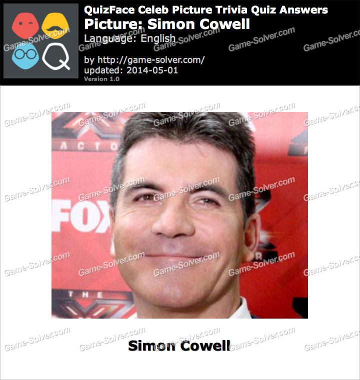QuizFace Level Simon Cowell