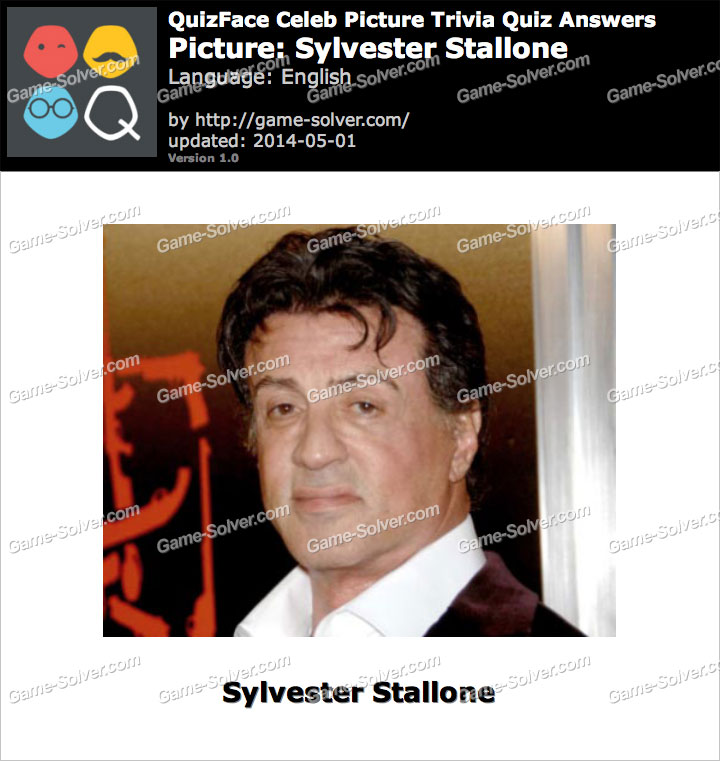 QuizFace Level Sylvester Stallone