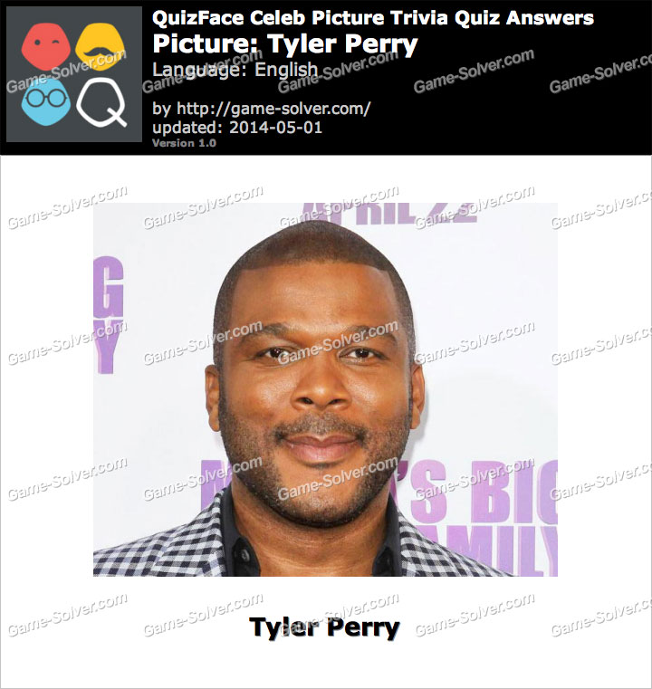 QuizFace Level Tyler Perry