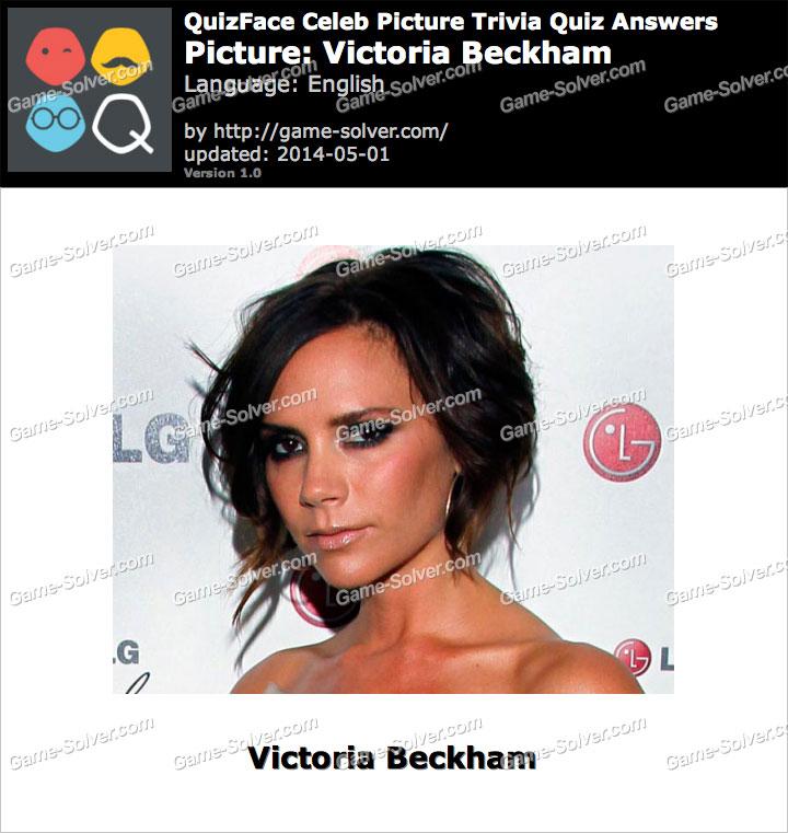 QuizFace Level Victoria Beckham