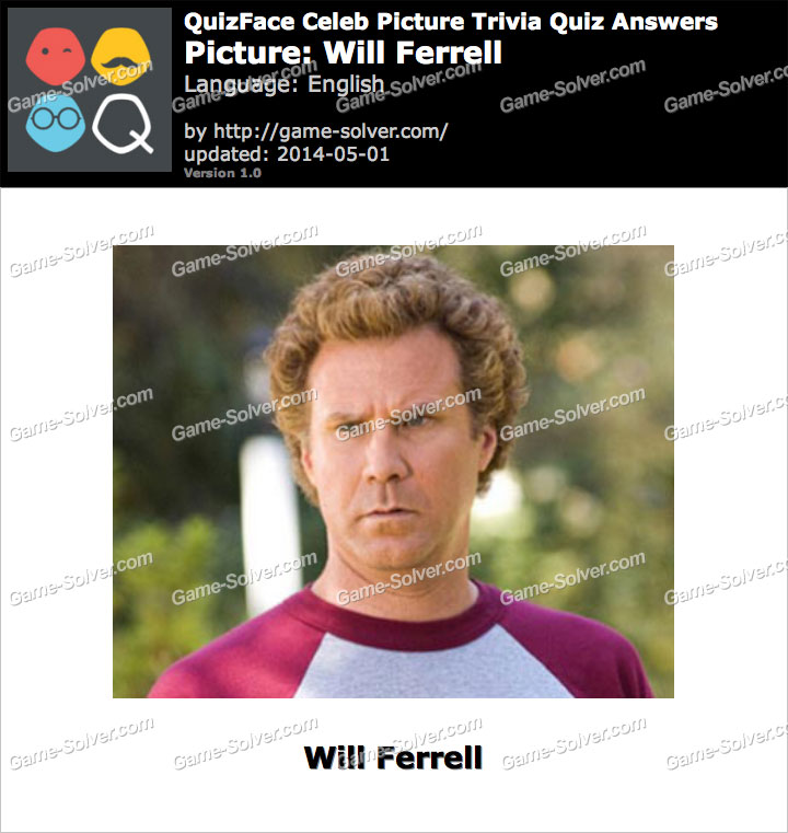 QuizFace Level Will Ferrell