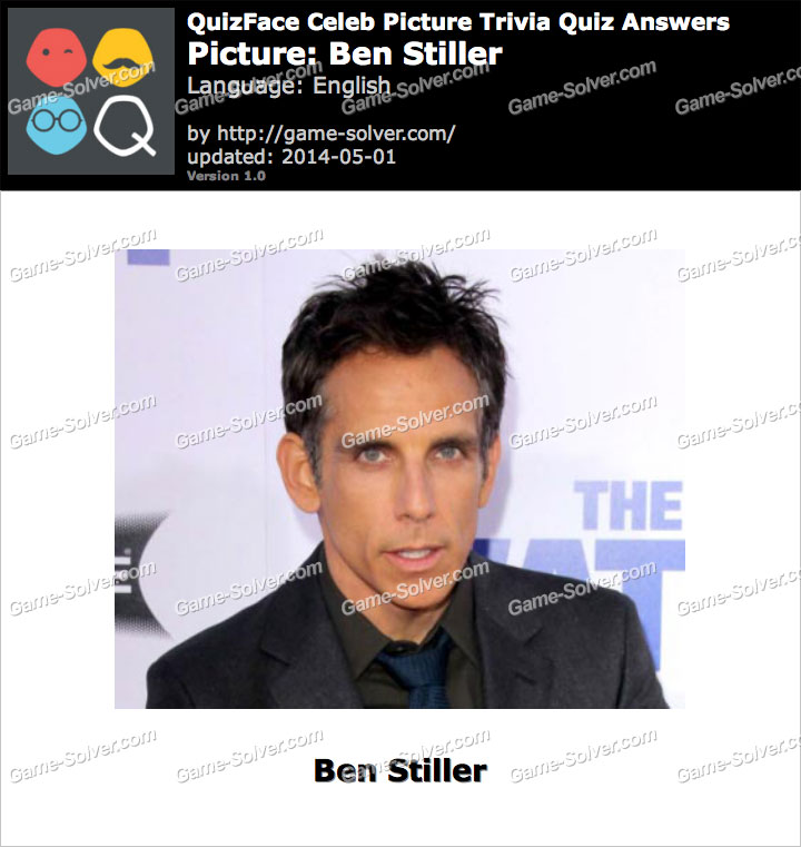 QuizFace Level Ben Stiller