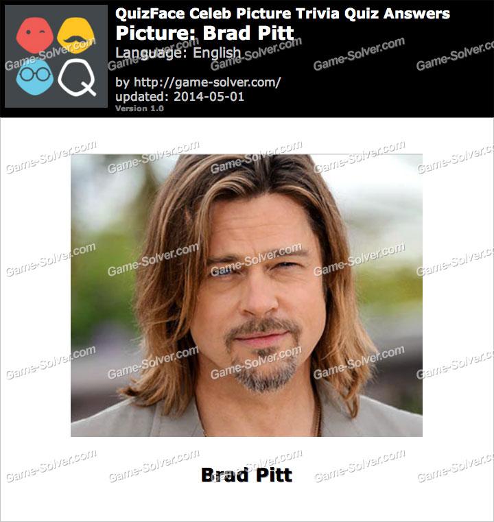 QuizFace Level Brad Pitt