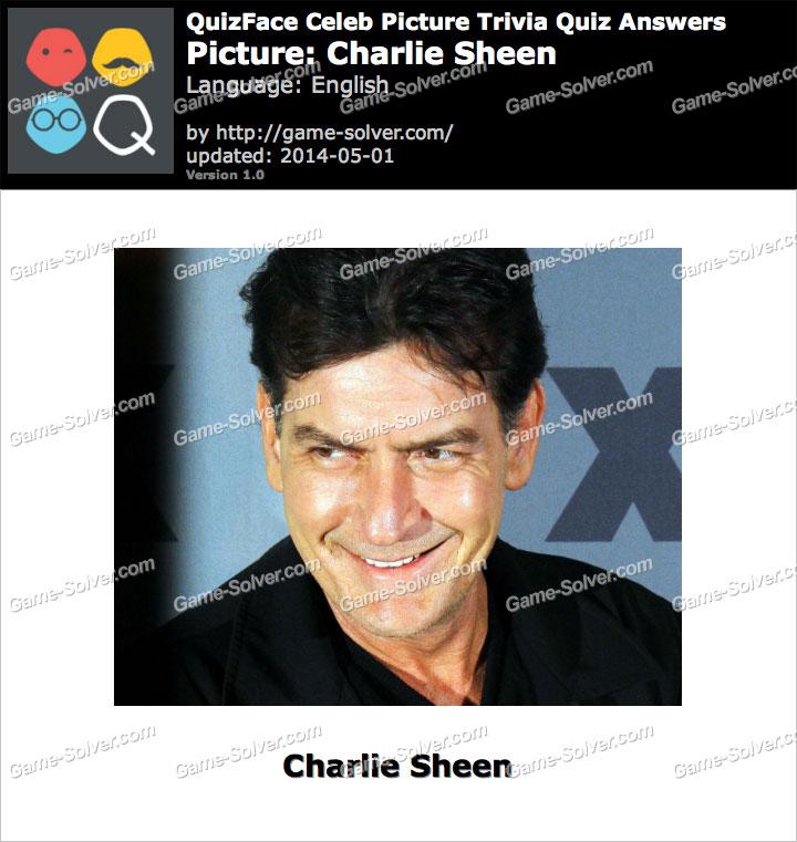 QuizFace Level Charlie Sheen