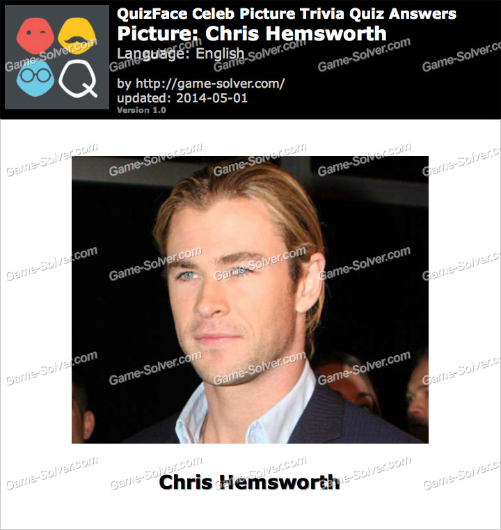 QuizFace Level Chris Hemsworth