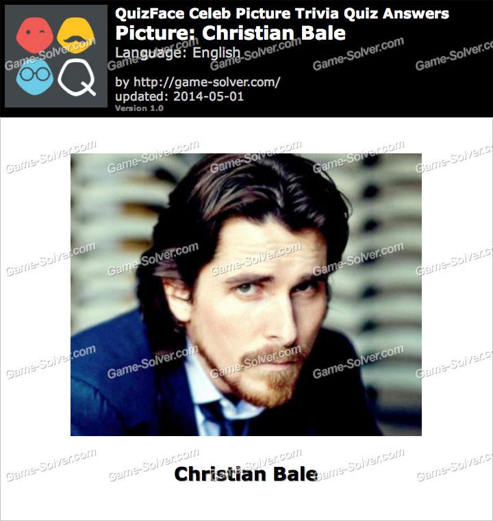 QuizFace Level Christian Bale