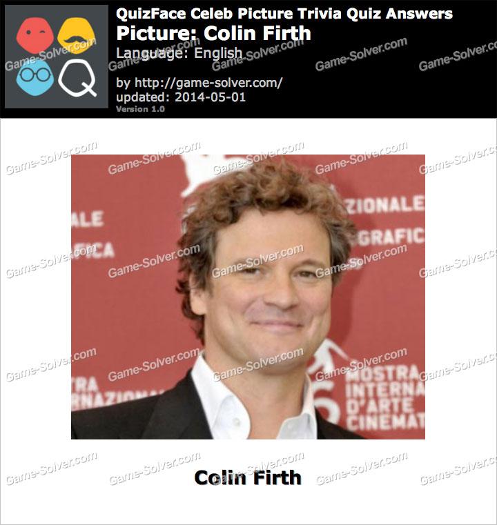 QuizFace Level Colin Firth