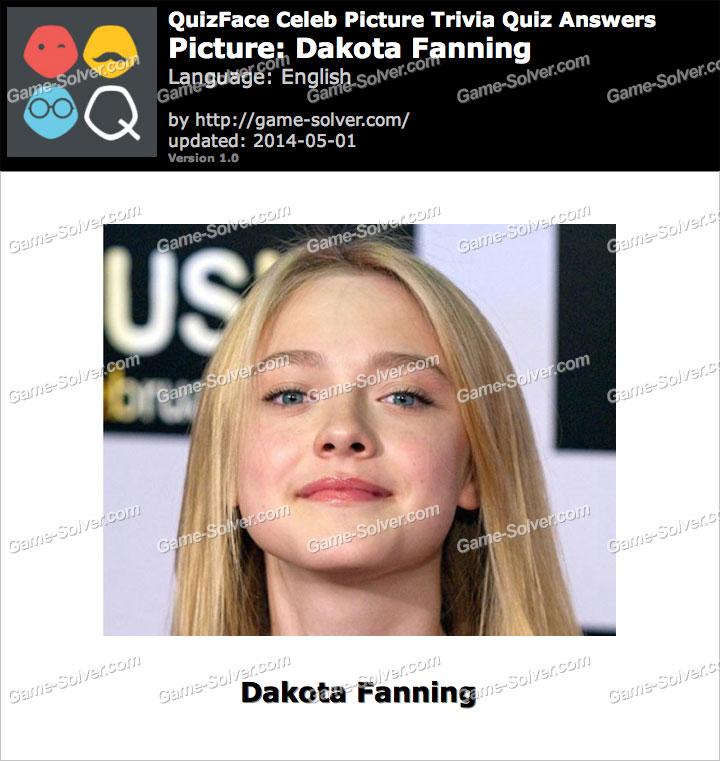 QuizFace Level Dakota Fanning