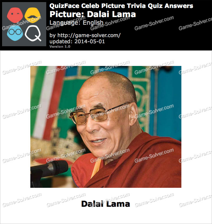 QuizFace Level Dalai Lama