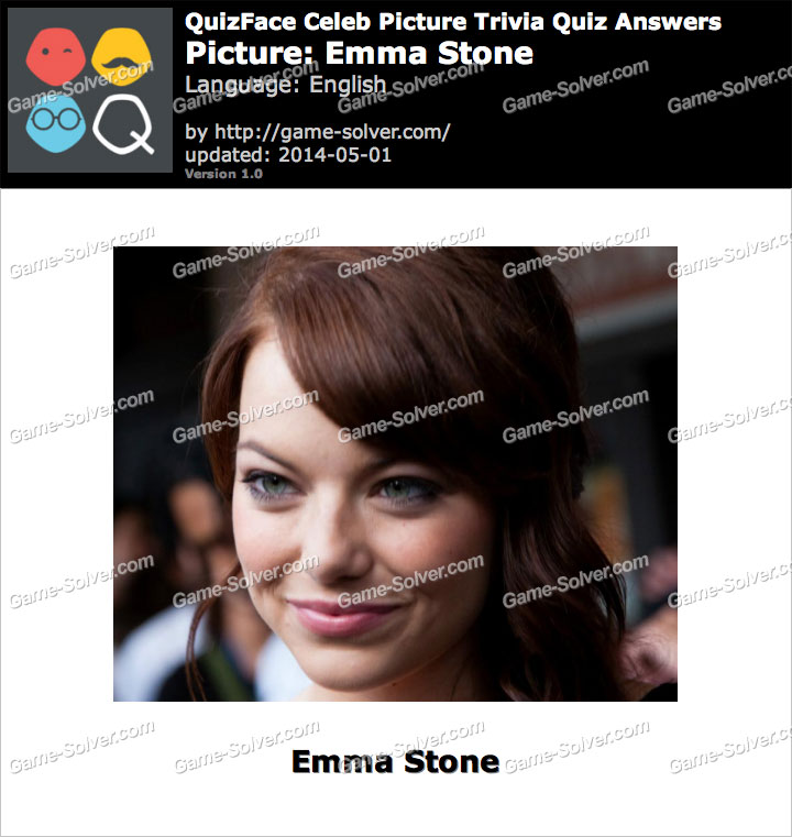 QuizFace Level Emma Stone
