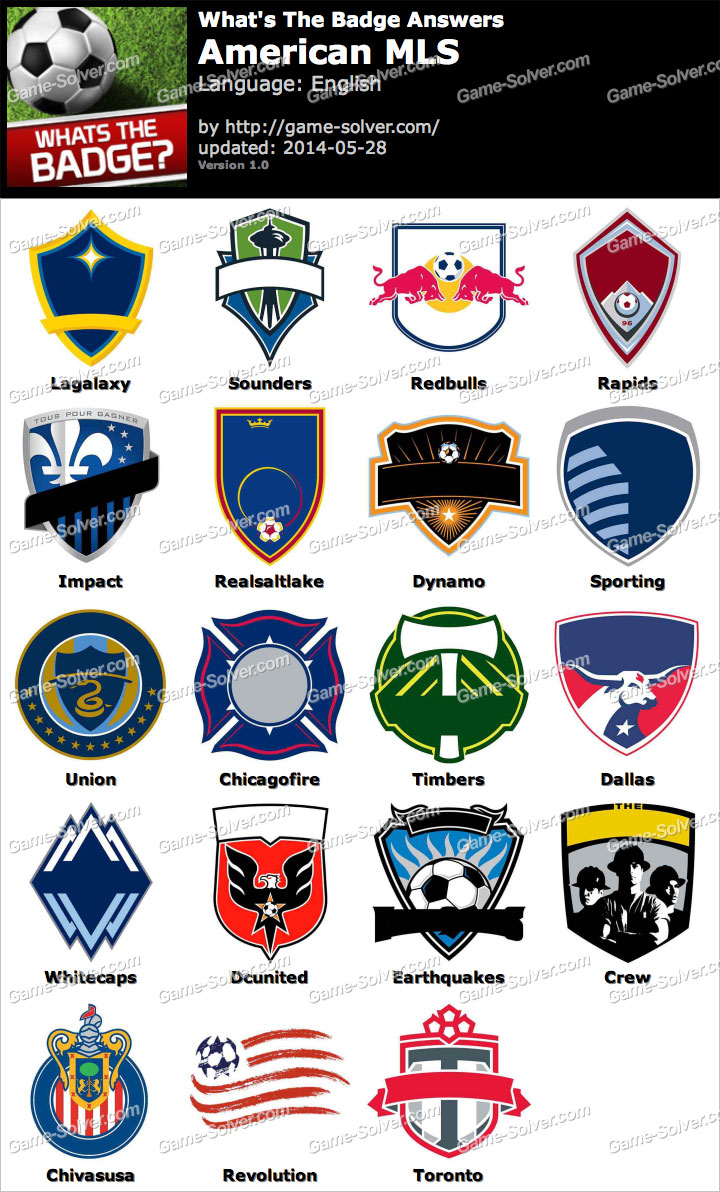 Whats The Badge American MLS Answers
