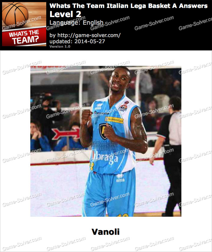 Whats The Team Italian Lega Basket A Level 2