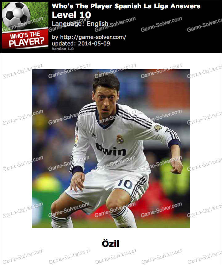 Who's The Player Spanish La Liga Level 10