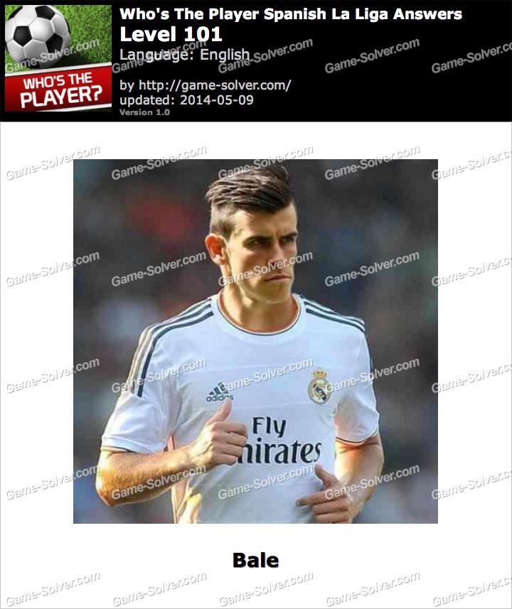 Who's The Player Spanish La Liga Level 101