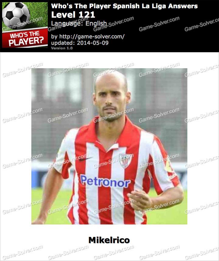 Who's The Player Spanish La Liga Level 121