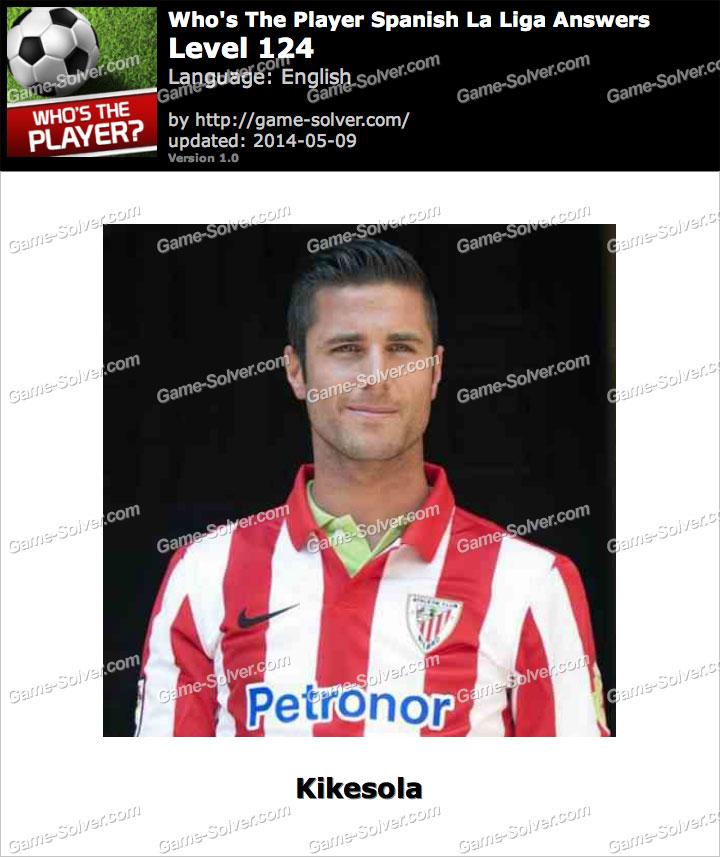 Who's The Player Spanish La Liga Level 124