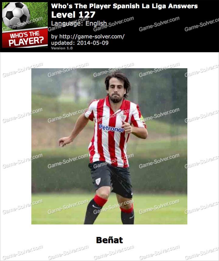 Who's The Player Spanish La Liga Level 127