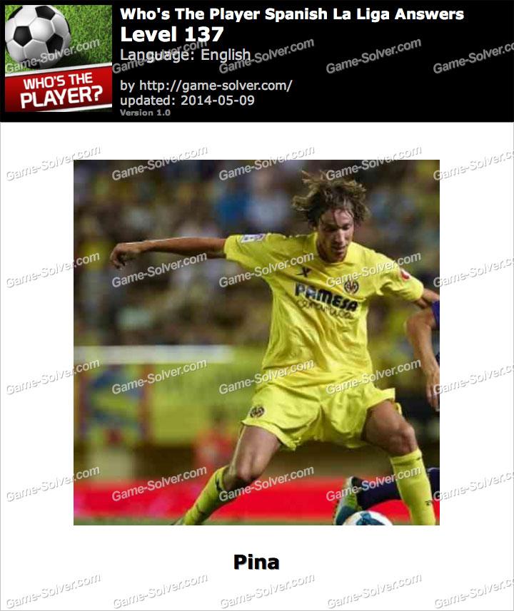 Who's The Player Spanish La Liga Level 137