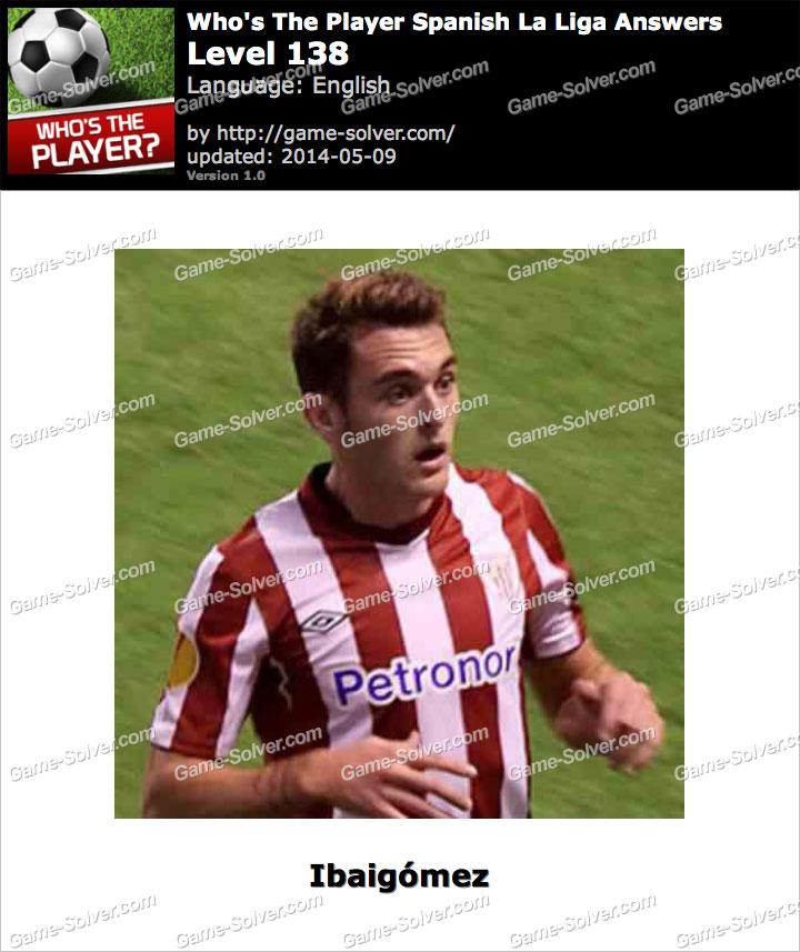 Who's The Player Spanish La Liga Level 138