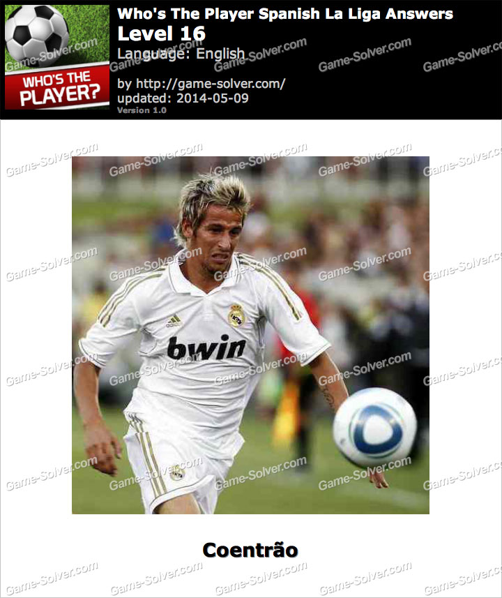 Who's The Player Spanish La Liga Level 16