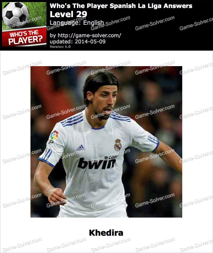 Who's The Player Spanish La Liga Level 29