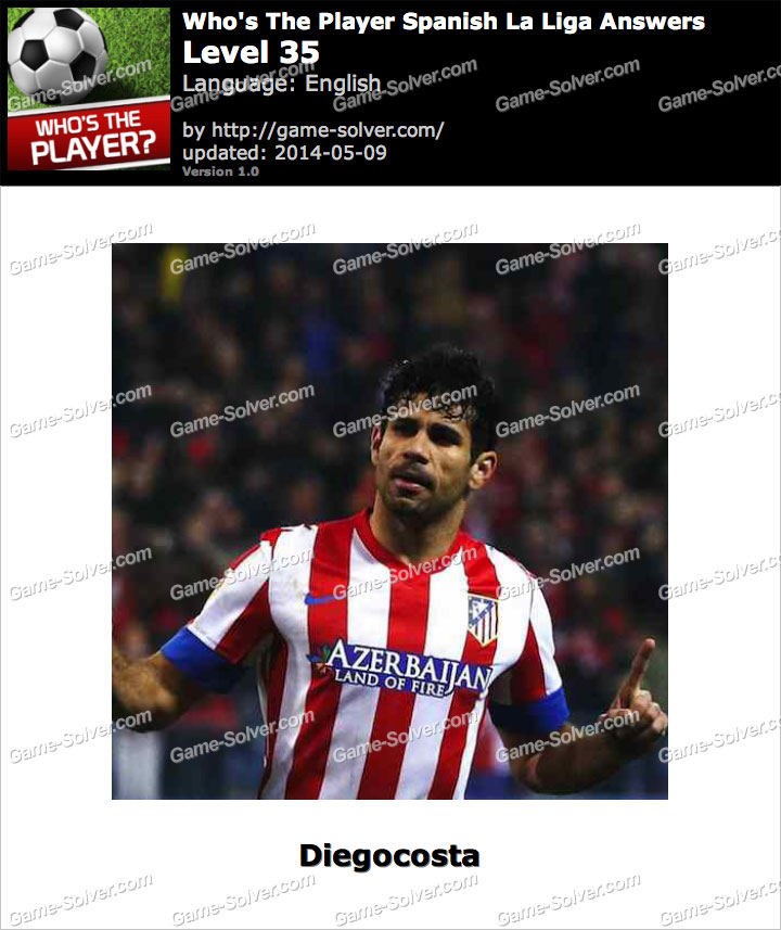 Who's The Player Spanish La Liga Level 35