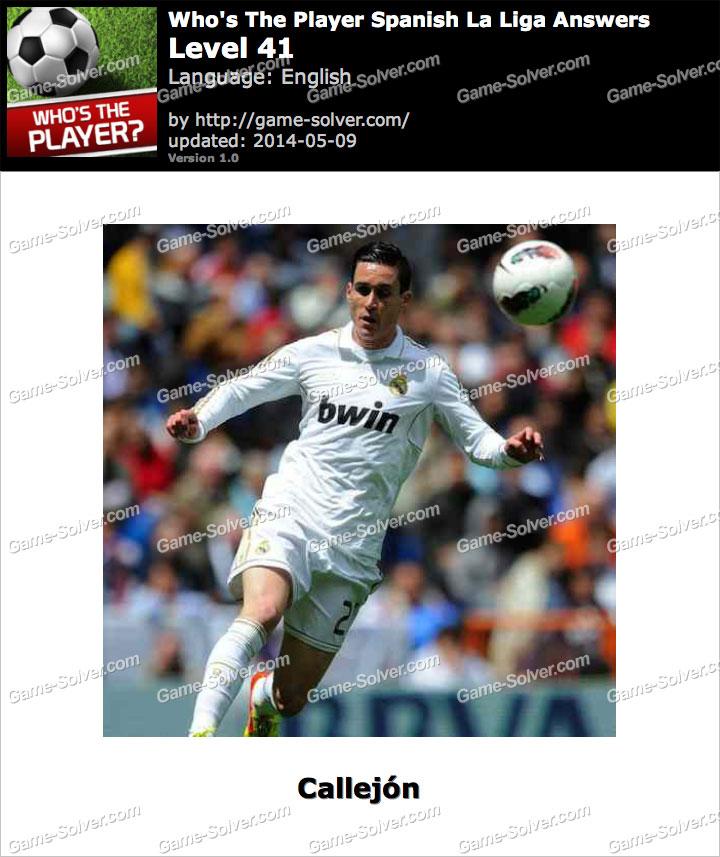 Who's The Player Spanish La Liga Level 41