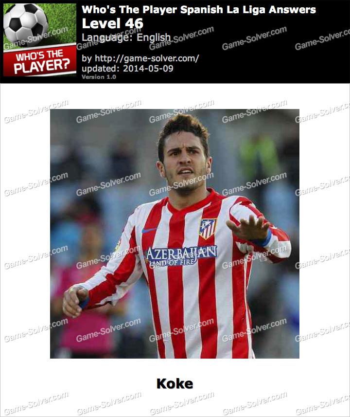 Who's The Player Spanish La Liga Level 46