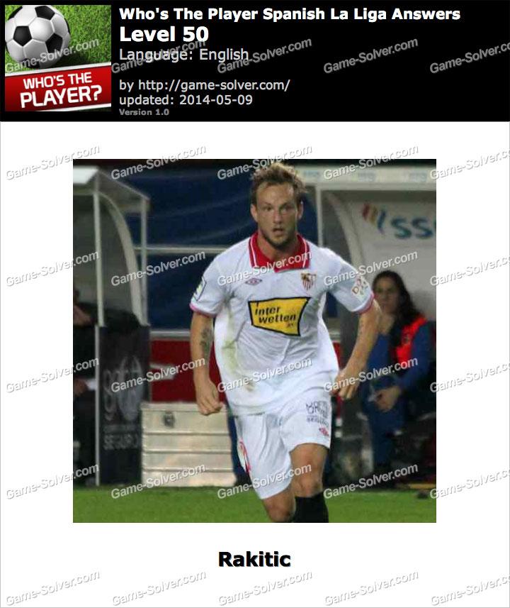 Who's The Player Spanish La Liga Level 50
