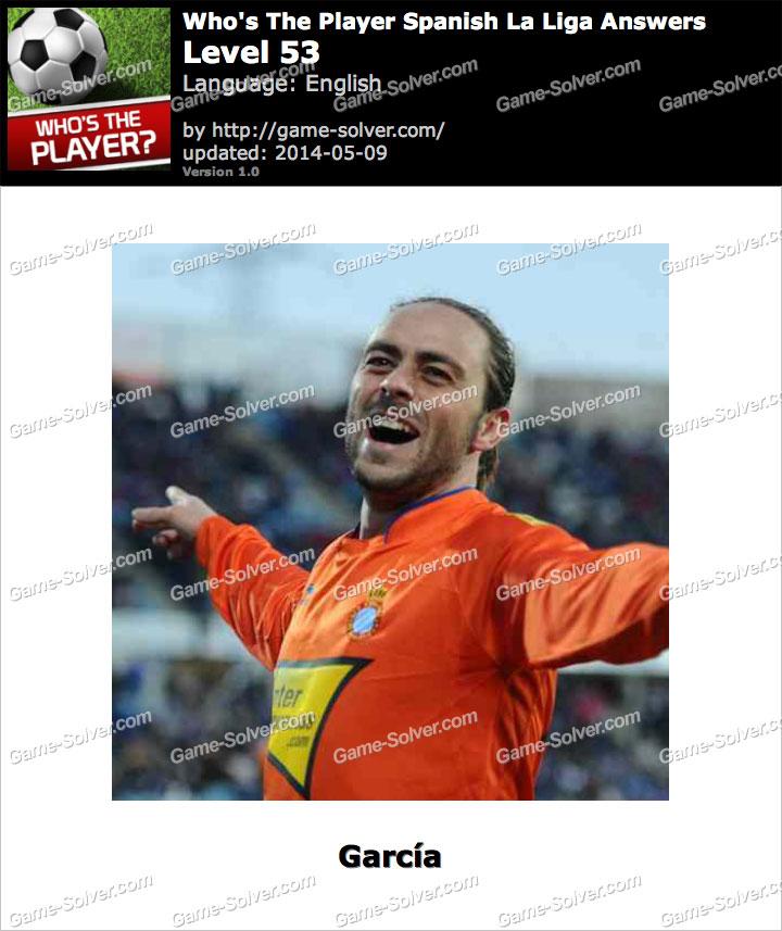 Who's The Player Spanish La Liga Level 53