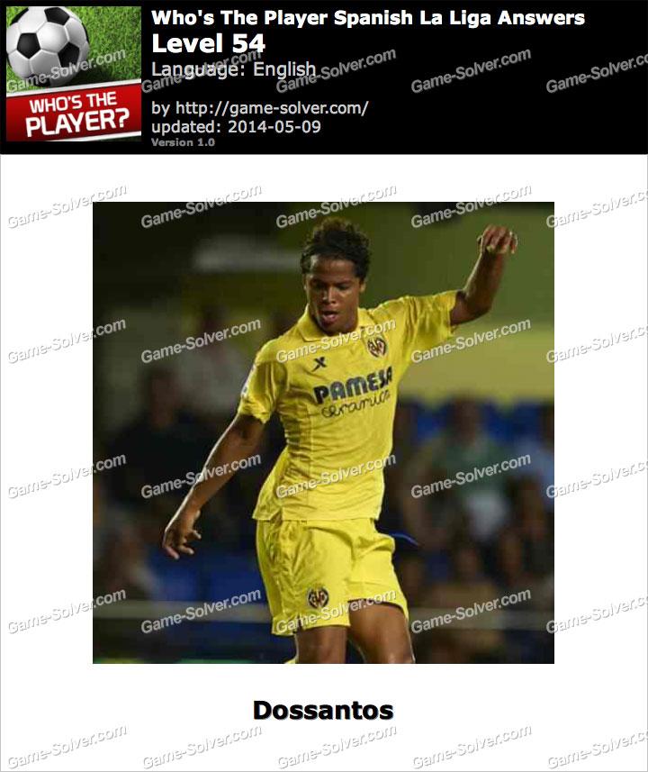 Who's The Player Spanish La Liga Level 54