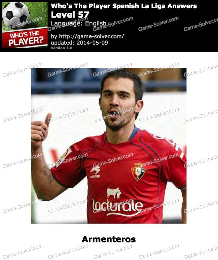 Who's The Player Spanish La Liga Level 57