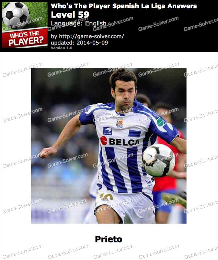 Who's The Player Spanish La Liga Level 59