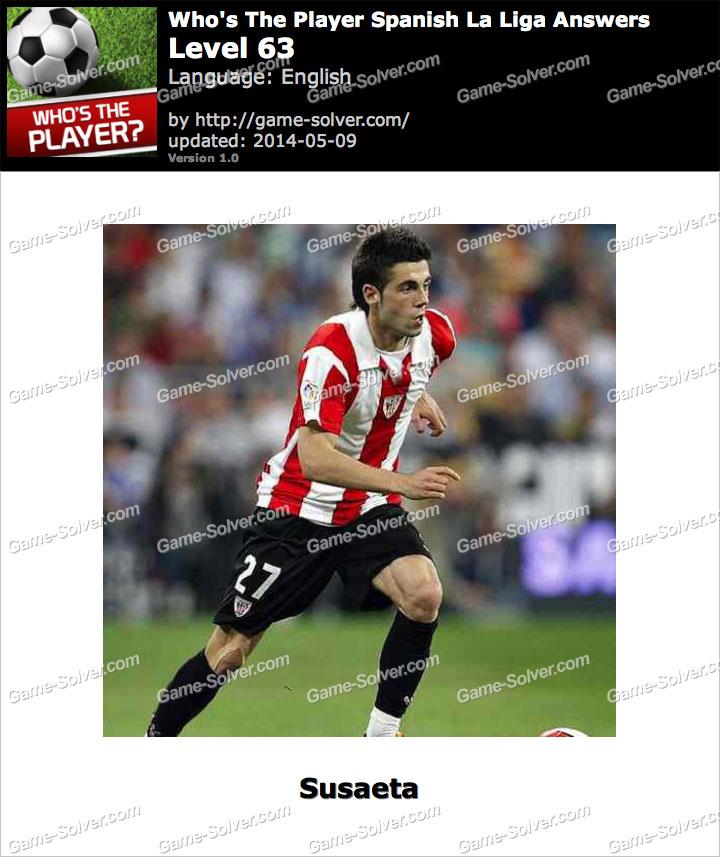 Who's The Player Spanish La Liga Level 63