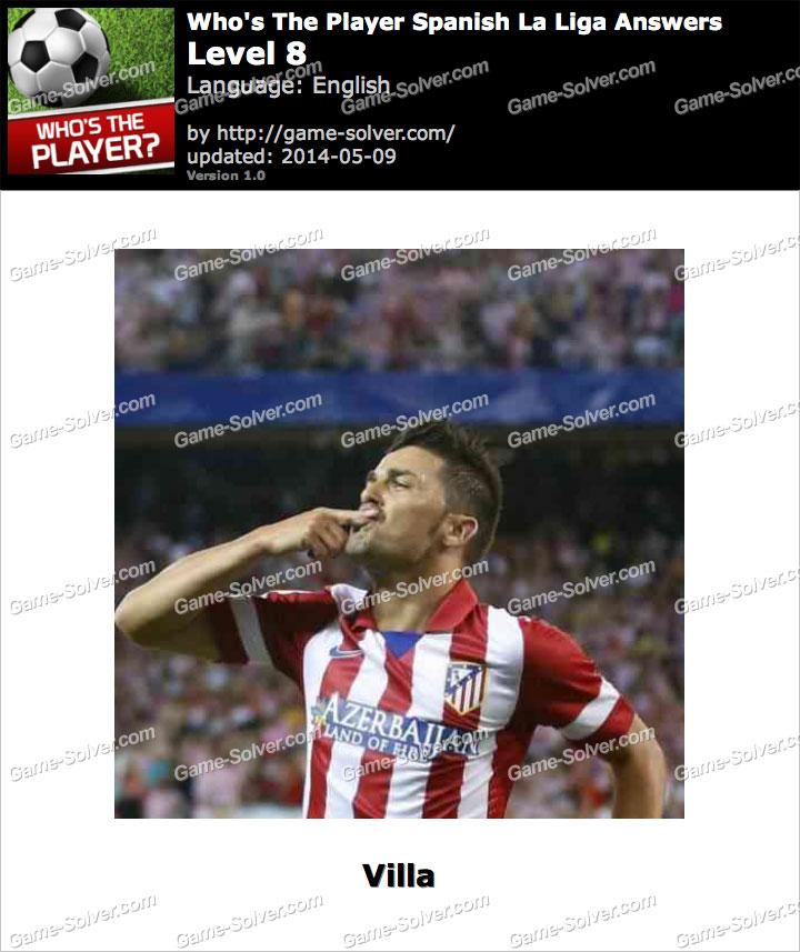 Who's The Player Spanish La Liga Level 8