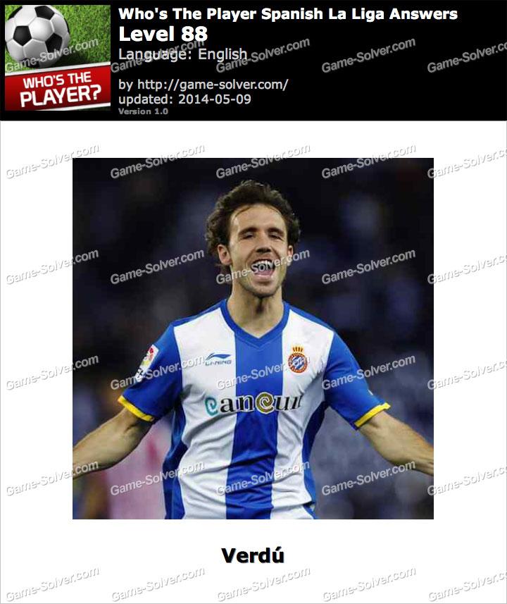 Who's The Player Spanish La Liga Level 88