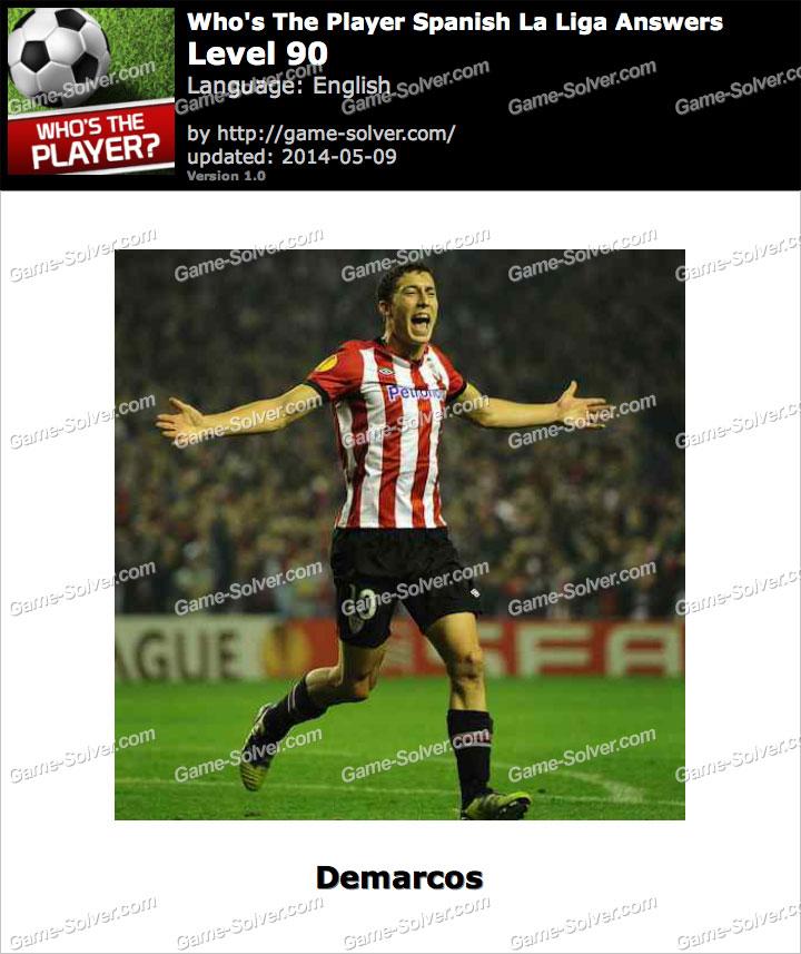 Who's The Player Spanish La Liga Level 90