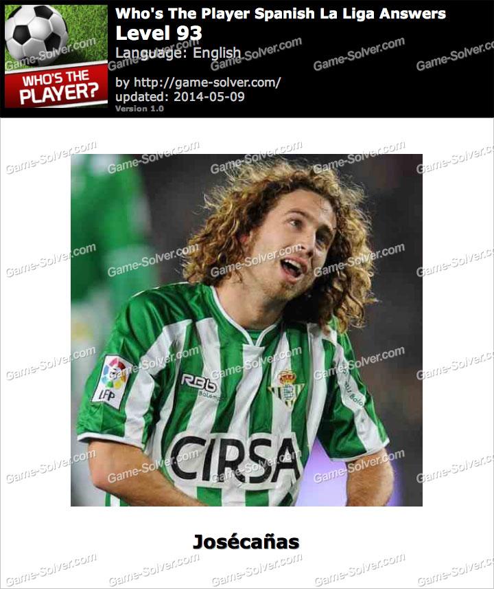 Who's The Player Spanish La Liga Level 93