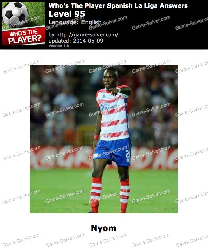 Who's The Player Spanish La Liga Level 95