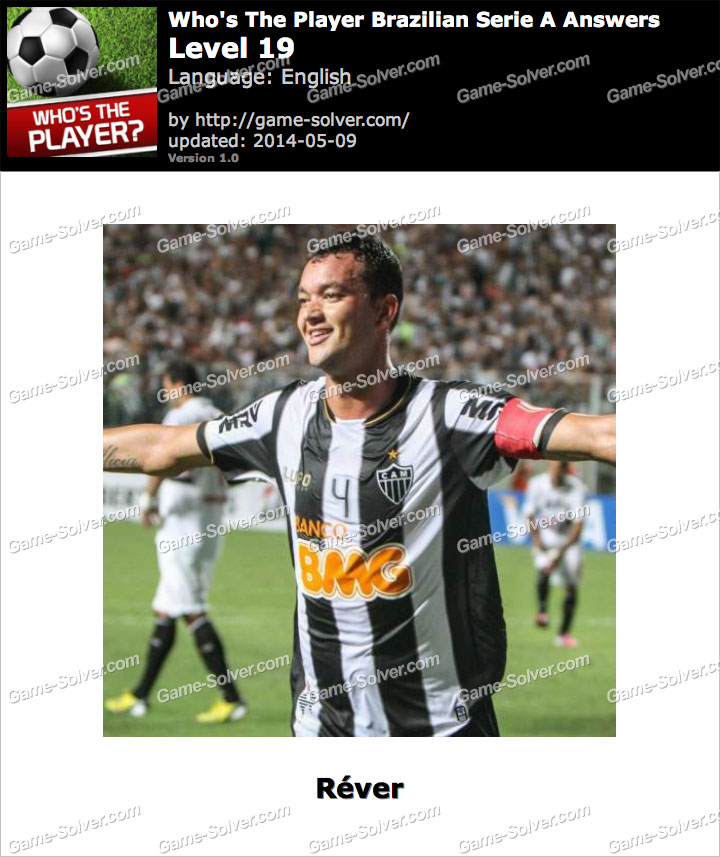 Who's The Player Brazilian Serie A Level 19