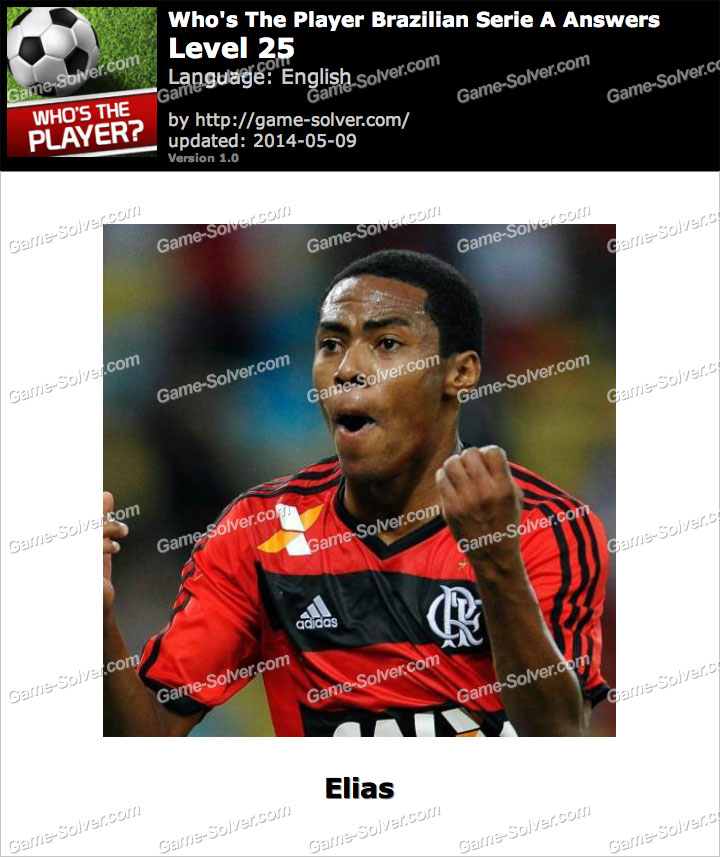 Who's The Player Brazilian Serie A Level 25