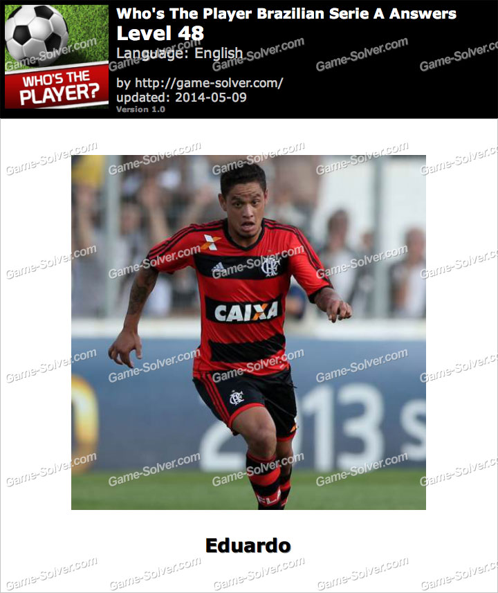 Who's The Player Brazilian Serie A Level 48