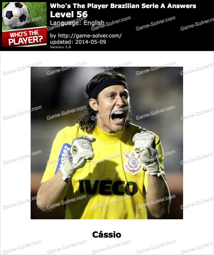 Who's The Player Brazilian Serie A Level 56