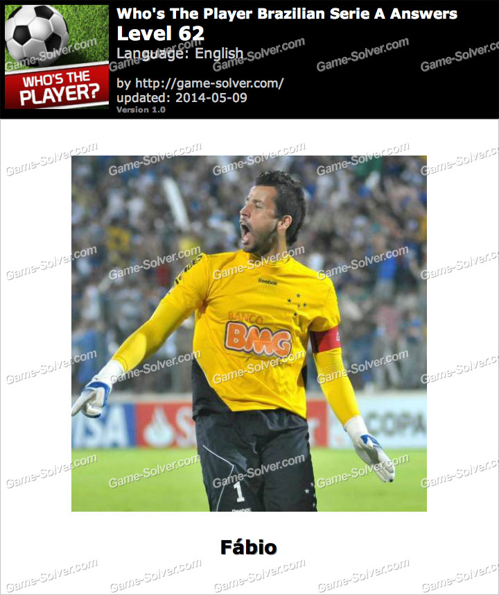 Who's The Player Brazilian Serie A Level 62
