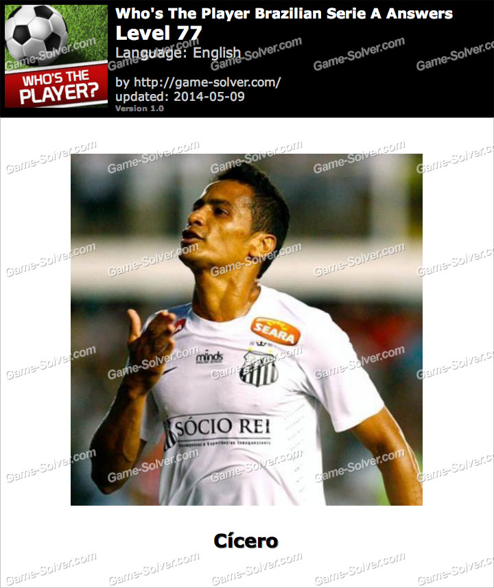 Who's The Player Brazilian Serie A Level 77