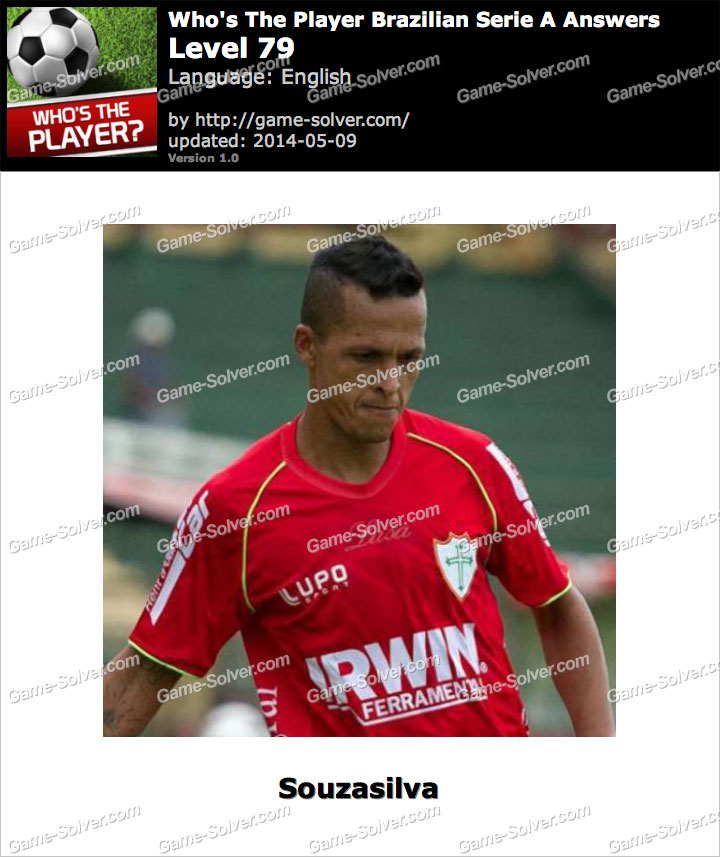 Who's The Player Brazilian Serie A Level 79